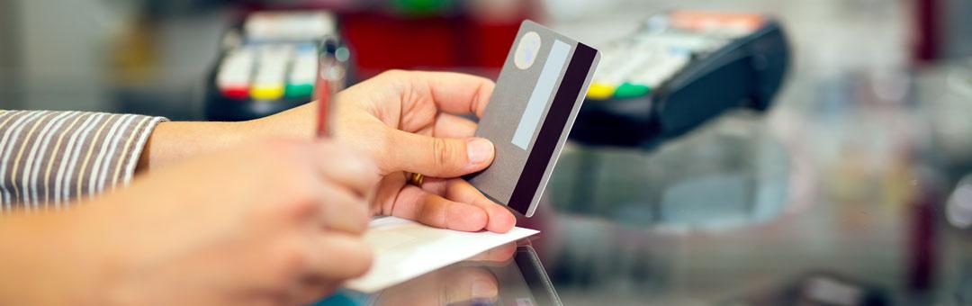 Electronic paycard credit card swipe